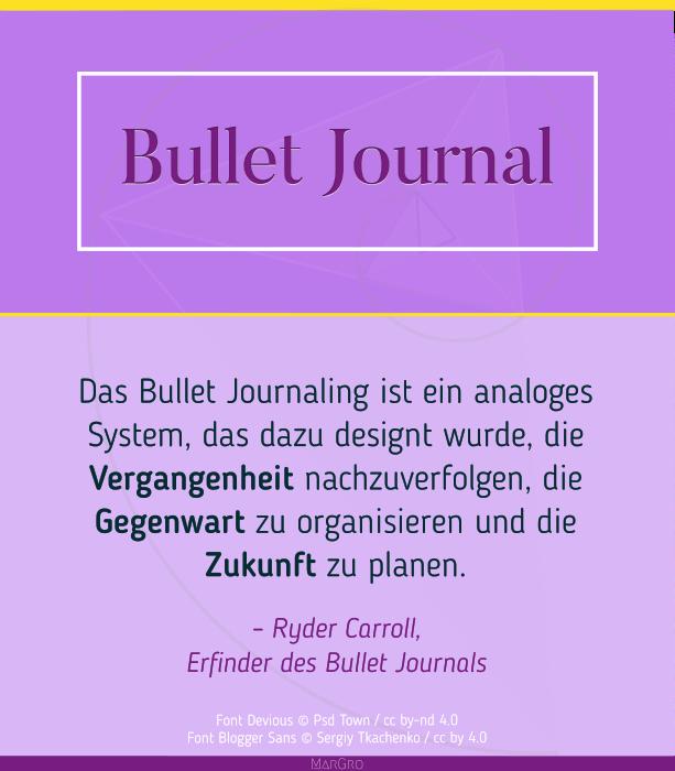 Innere Ruhe finden mit dem Bullet Journal | © Margarita Gross